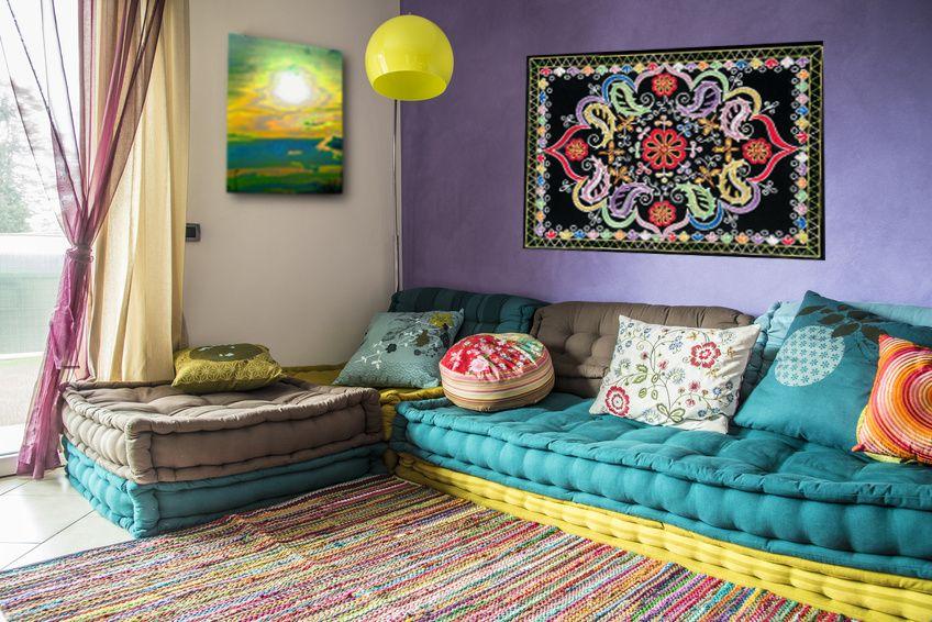 Sala de estar bohemia IDEAS PARA EL HOGAR Pinterest Bohemio - ideas para decorar la sala