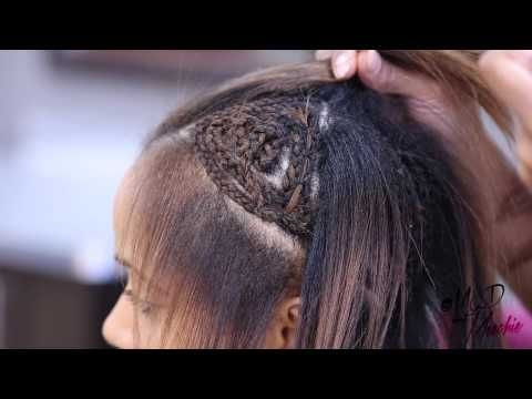 VIXEN SEW-IN BRAIDING TUTORIAL - If I ever wear of a sew in I will ...