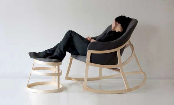 DESIGN The Dancing Chair Par Constance Guisset Design Design - Fauteuil rocking chair design