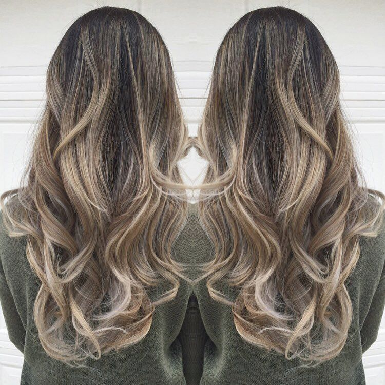 Gave Karly An Ashy Beige Balayage Ombr 233 She Came In