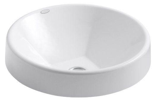 Kohler K 2388 0 Inscribe 16 1 2 Inch Cast Iron Wading Pool White Drop In Bathroom Sinks Sink Square Bathroom Sink