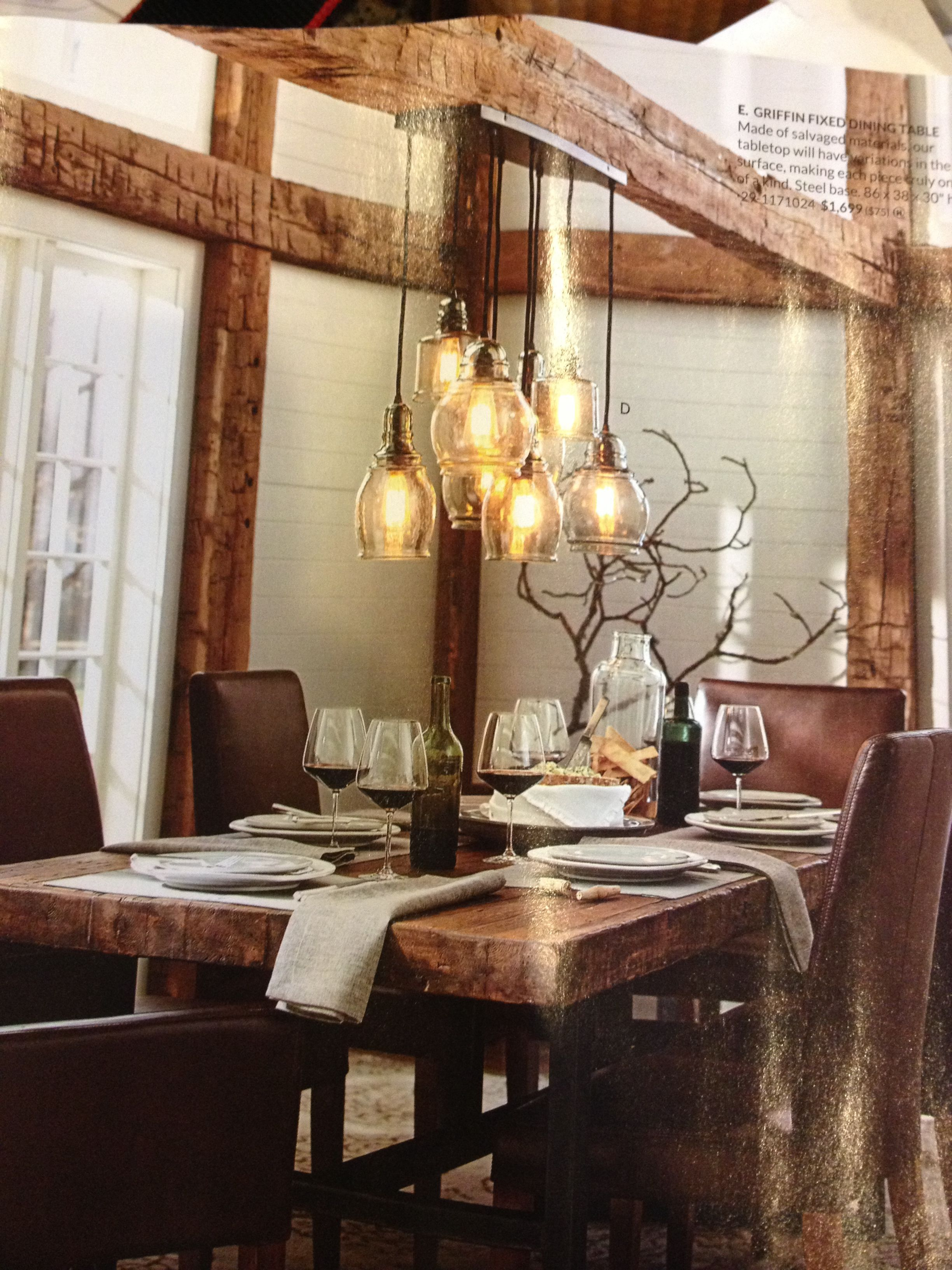 Lighting from pottery barn Modern patio furniture