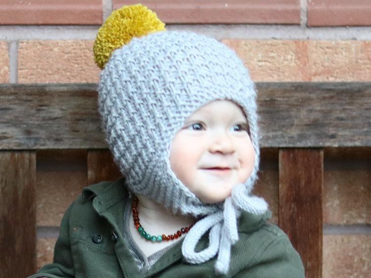 Cullen Earflap Hat | Craftsy | Baby hat knitting pattern ...