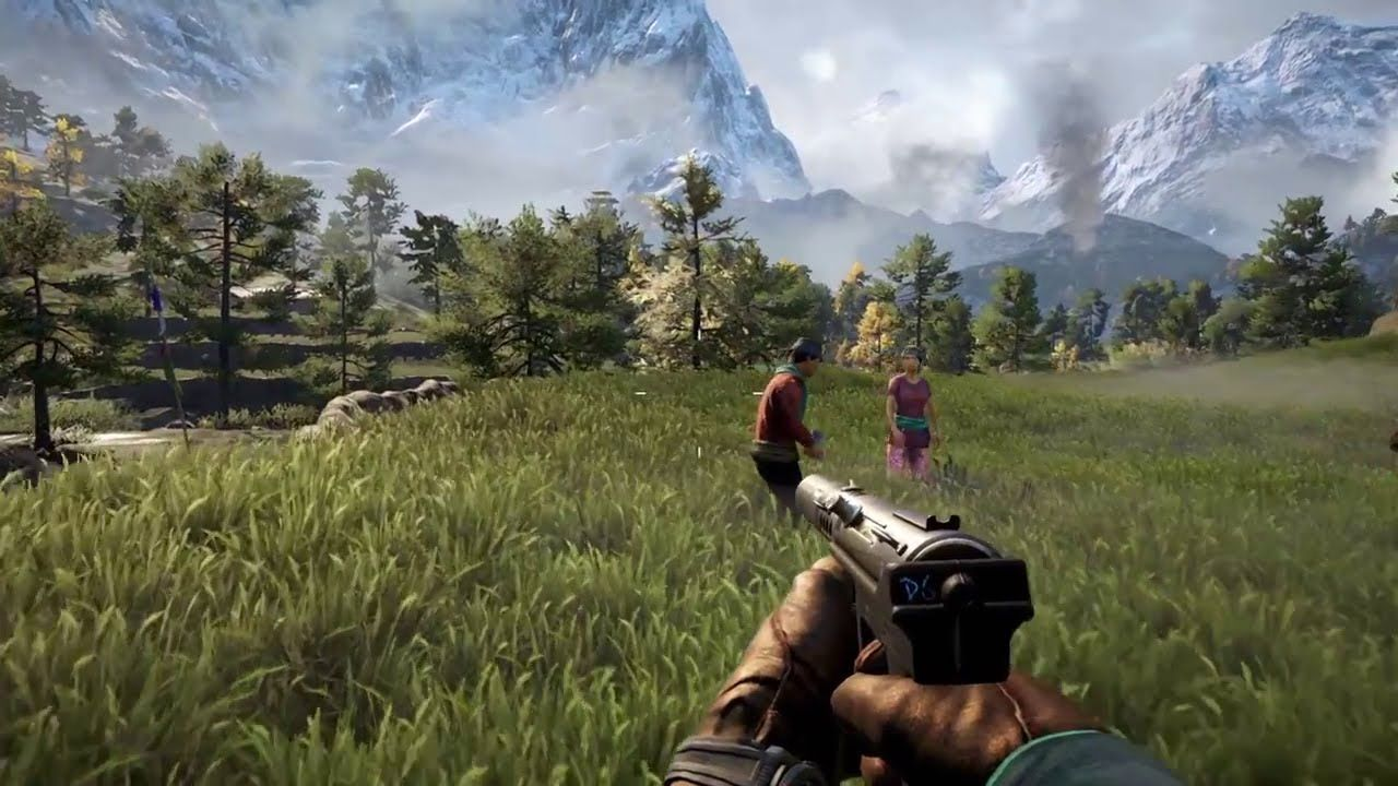 Far Cry 4 Gameplay Demo E3 2014 Ps4 Far Cry 4 Watch Dogs