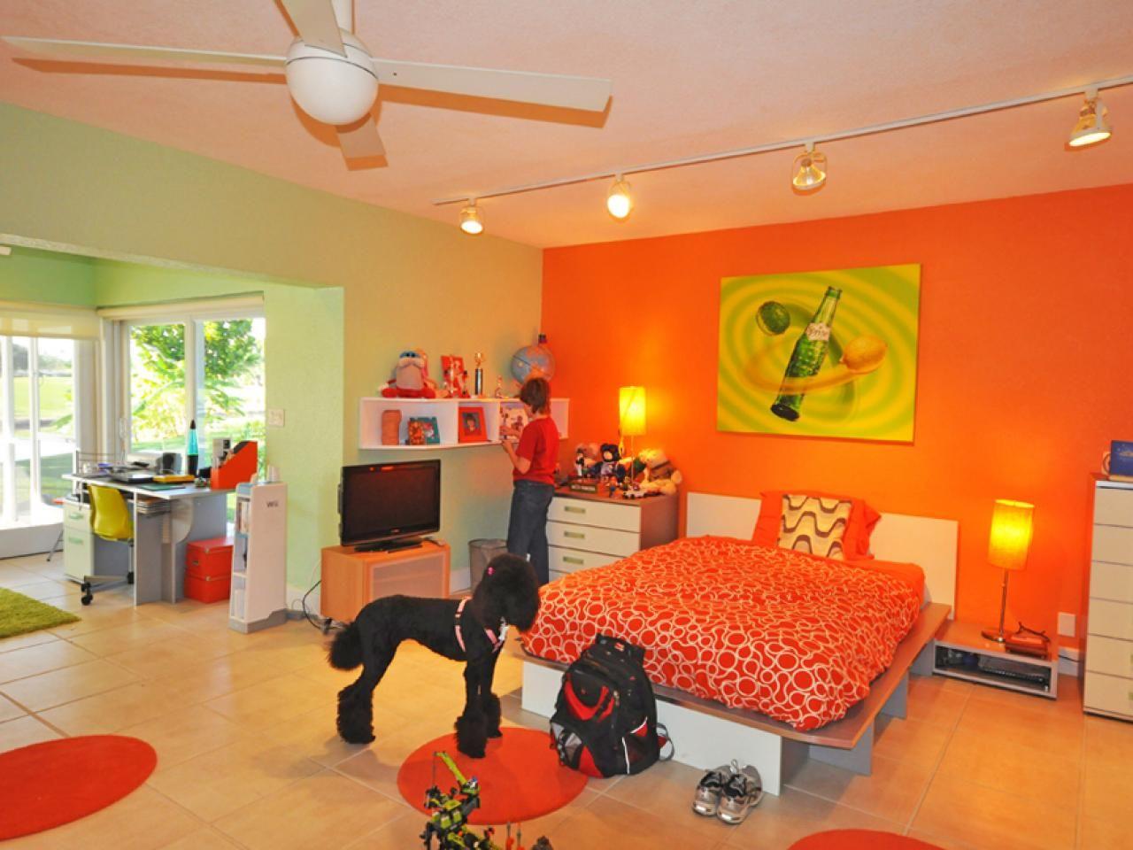 Teen Boy Bedrooms   Colorful teen bedrooms