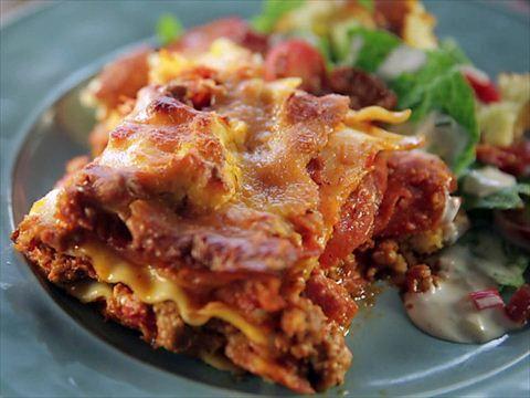 Pizza Di Rotelle Giada De Laurentiis Food Network Food Network Recipes Cowboy Lasagna Recipes