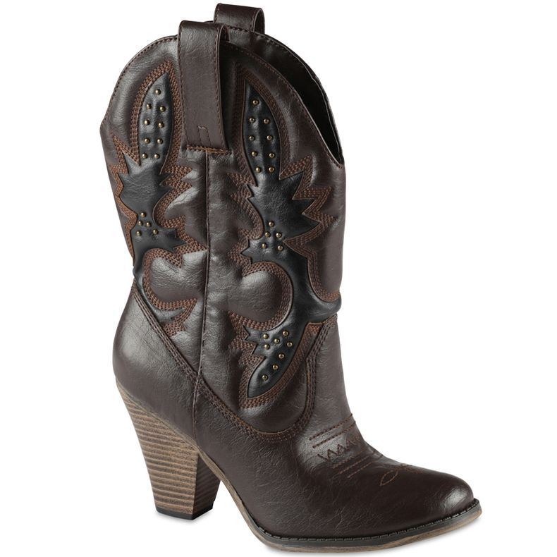 High heel cowboy boots, Jcpenney boots