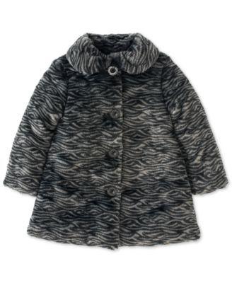 Calvin Klein Baby Girls Faux Fur Coat Shop All Baby Kids Baby Macy S Girls Faux Fur Coat Faux Fur Coat Shop Fur Coat