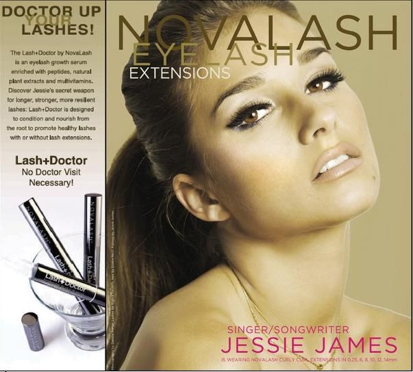 Jessie James For Novalash Eyelash Extensions Lashdoctor Add