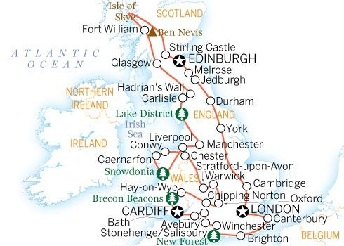 The Full Monty  Itinerary  United Kingdom  Lonely Planet Visa