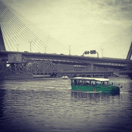 Charlie River heading into the Charles River #boston #bostonducktours… #BostonDuckTours #Boston #bostonducktours #MarketDistrict #Boston
