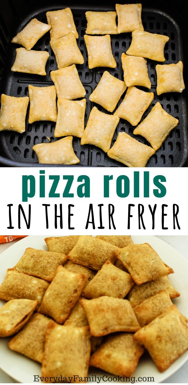 Air Fryer Pizza Rolls Recipe in 2020 (With images
