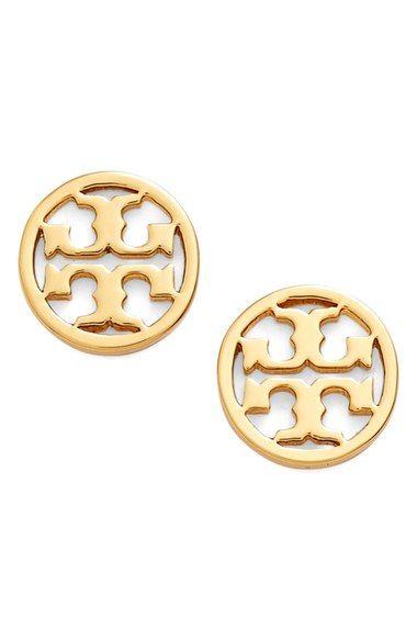Tory Burch Circle Logo Stud Earrings 75 Nordstrom