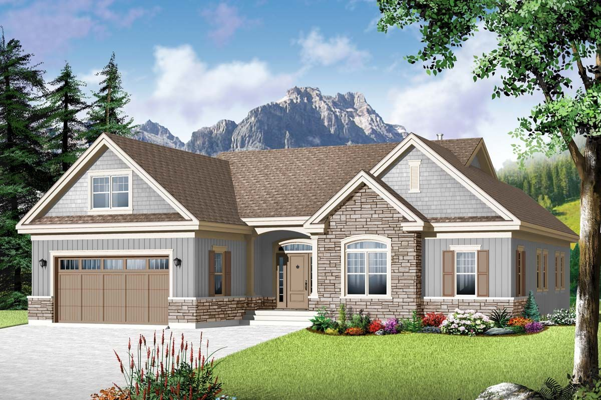 Flexible Family Home Plan Family house plans, Affordable