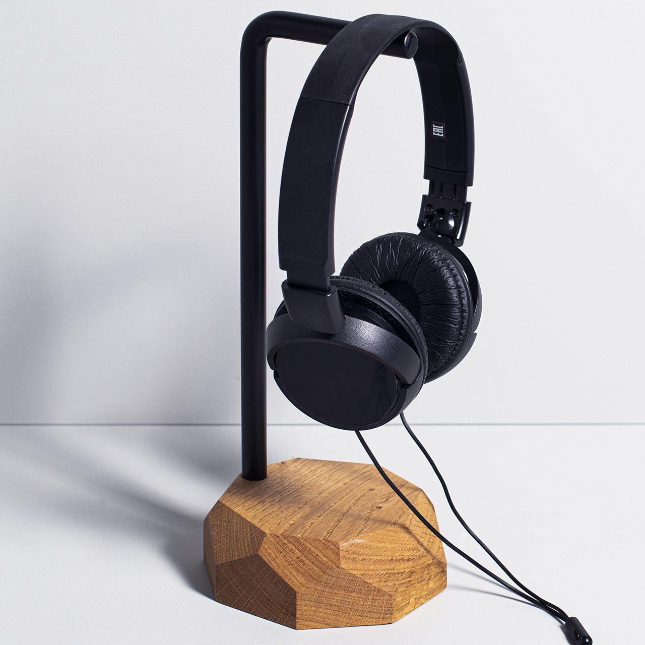 Stojak na słuchawki drewniany,crazyshop.pl#stojak#stojaknasłuchawki#stojakdrewniany#stojaknamuzyka#muzyk#prezent#prezentdlamuzyka#pomysłnaprezent#gift#headphones#headphonestand#musician