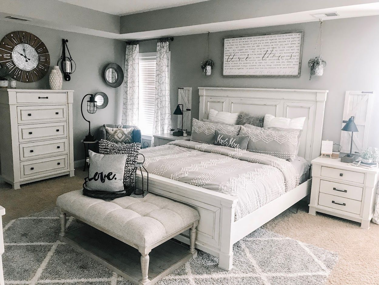 Robin Long Personalizes Master Bedroom with Love | Ashley HomeStore