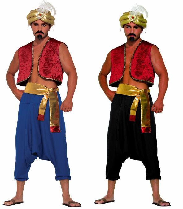 Desert prince harem costume knickers pants arabian genie sultan aladdin mens | Knickers pants Harems and Deserts  sc 1 st  Pinterest & Desert prince harem costume knickers pants arabian genie sultan ...