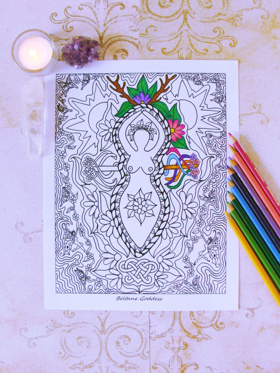 Coloring Book Page, Coloring Pages, Printable Coloring Page, Mandala ...