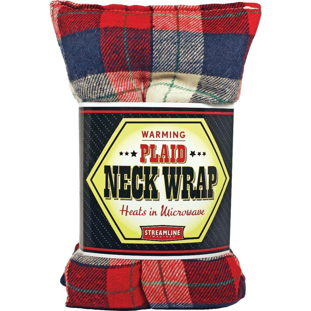 Plaid Flannel Neck Warmer