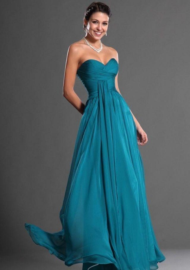 promo code b939f c3dd9 drapiertes dunkelblaues Kleid Abiball 2014 | Modedesign in ...
