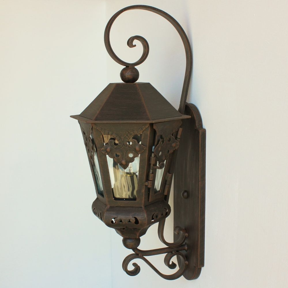 LIGHTS Of TUSCANY Spanish/Mexican Style Hand Forged