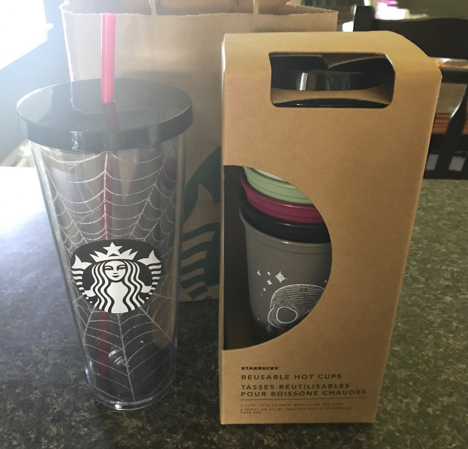 Country living editors select each product featured. TAKING OFFERS! RARE LIMITED 6 STARBUCKS HOT CUPS & 1 VENTI SPIDER WEB TUMBLER. These are brand ...