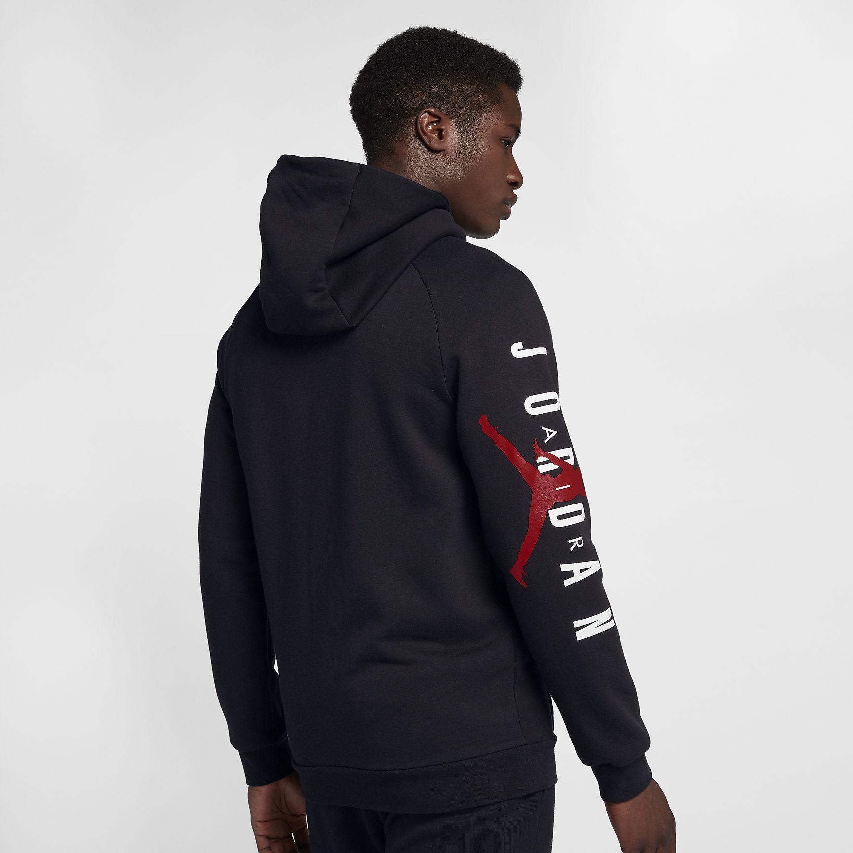 addd87db0ad Sweat à capuche entièrement zippé en tissu Fleece Jordan Jumpman Air pour  Homme