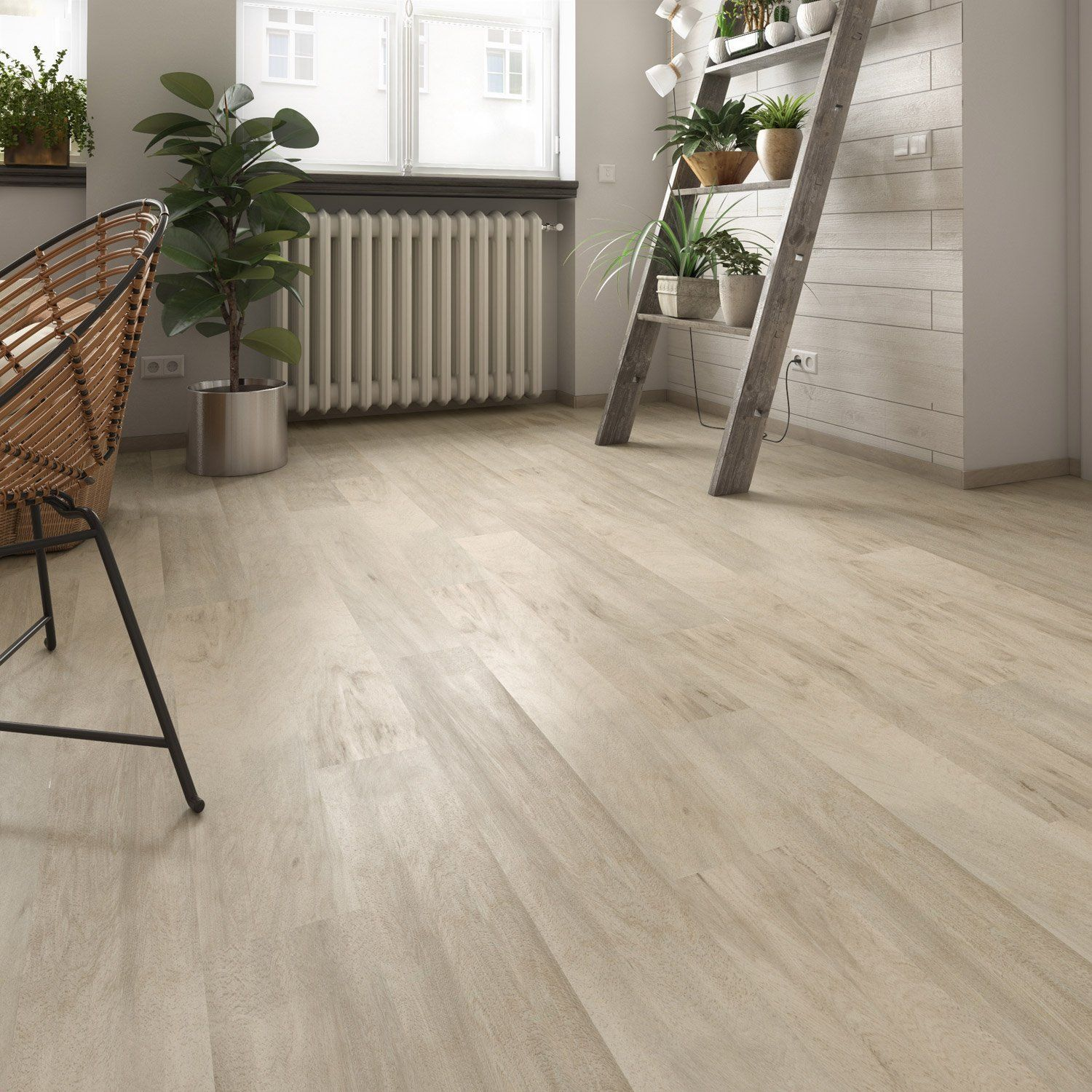 lame de sol pvc leroy merlin promo lame pvc clipsable authentic blond gerflor senso premium pas - Sol Pvc Clipsable Pas Cher