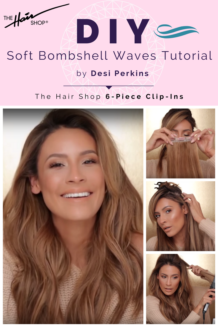 Instagram And Youtube Star Desi Perkins Shows Us How Soft Waves Is