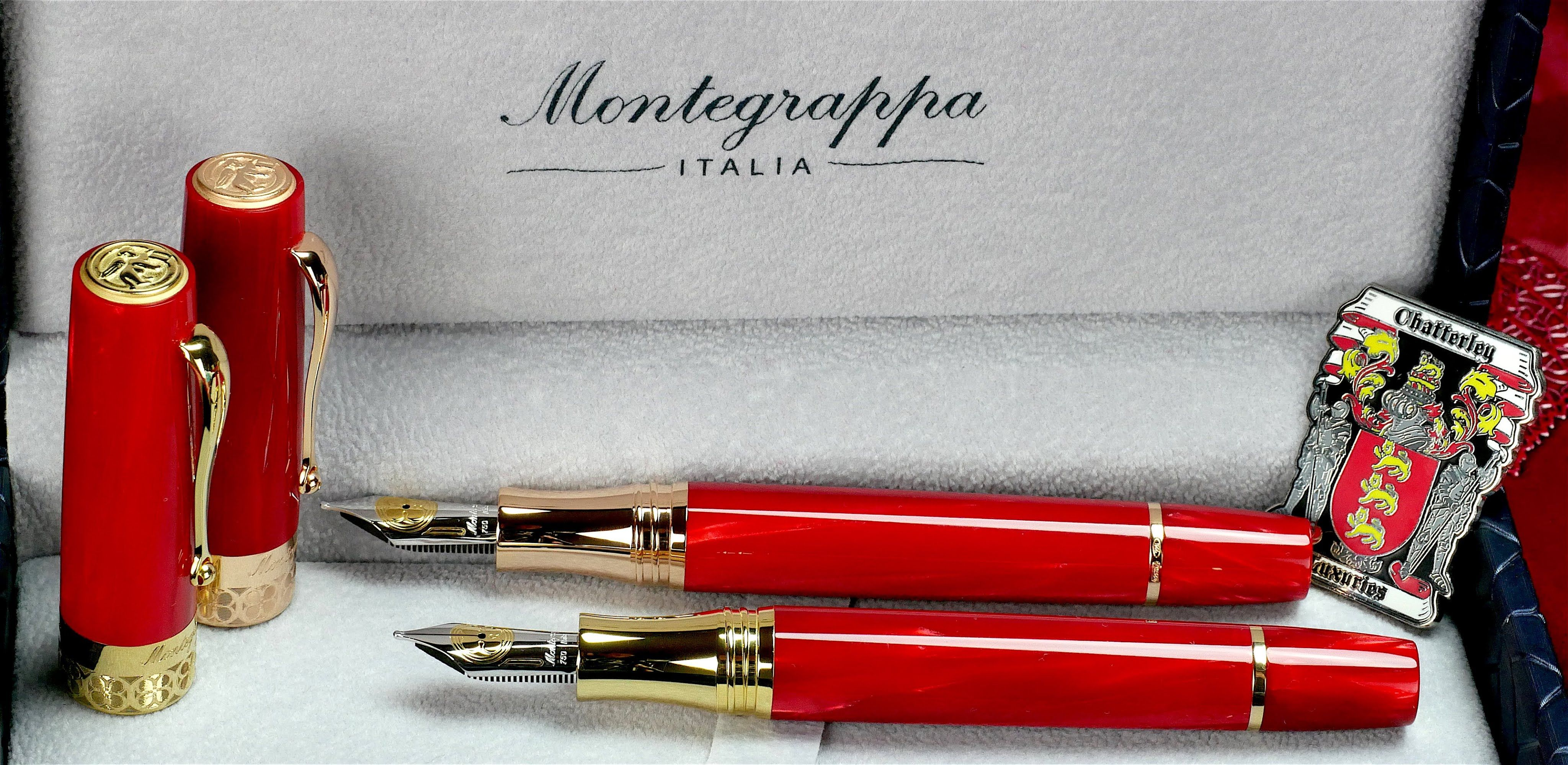 Montegrappa Rosso Extra LE from Chatterley Luxuries in 4K