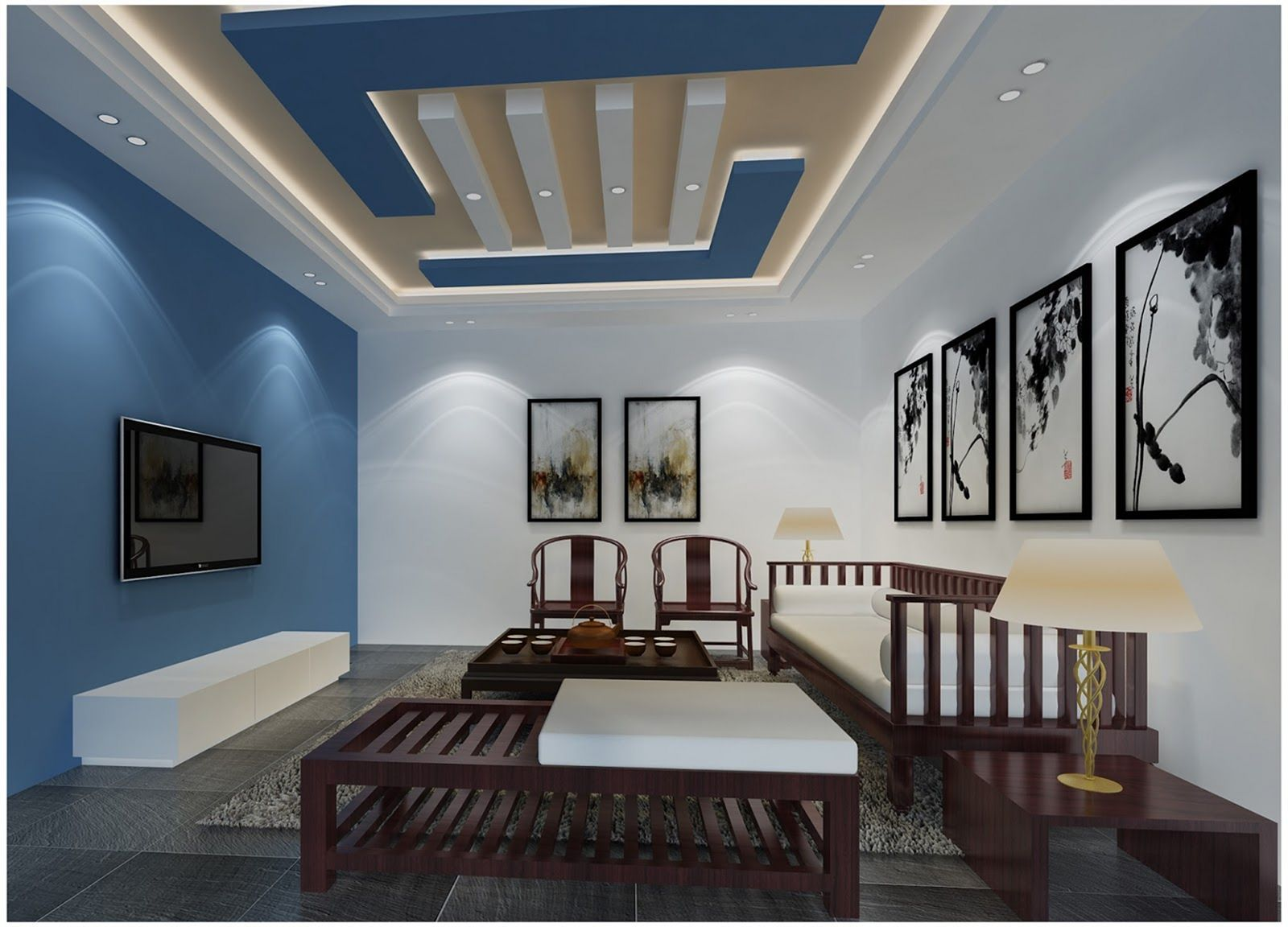 16 House ceiling model with an elegant and simple design ...