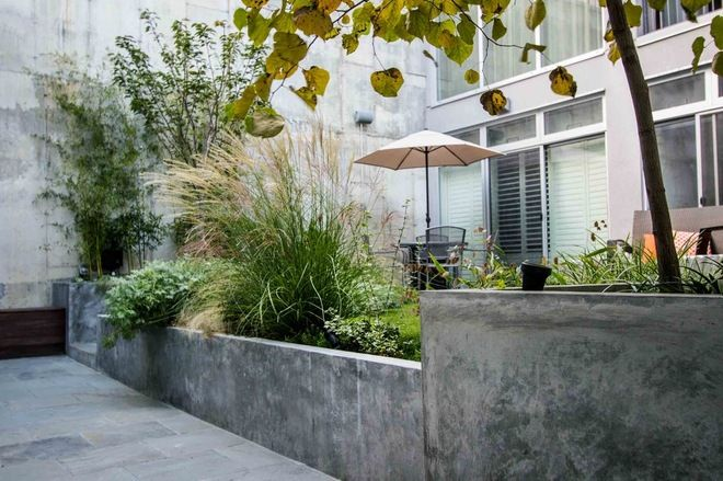 From Concrete Jail Yard To Lush Escape In Brooklyn House Landscape Backyard Inspiration Gorgeous Gardens