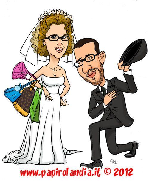 a69dcd9fa294 caricatura degli Sposi idee matrimonio