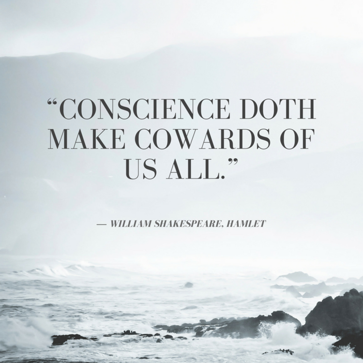 Shakespeare Quotes In Brave New World: Conscience Doeth Make Cowards Of Us All