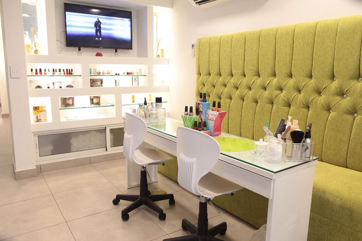 Beau Nail Bar Hair And Nail Salon, Home Nail Salon, Nail Salon Design, Nail