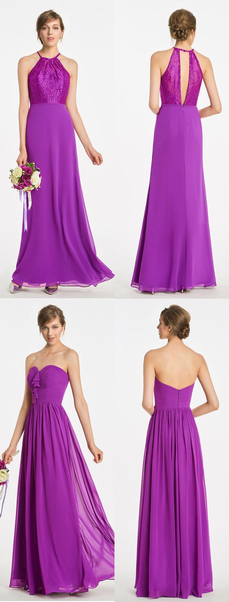 Purple bridesmaid dress wedding bridesmaid Bridesmaid