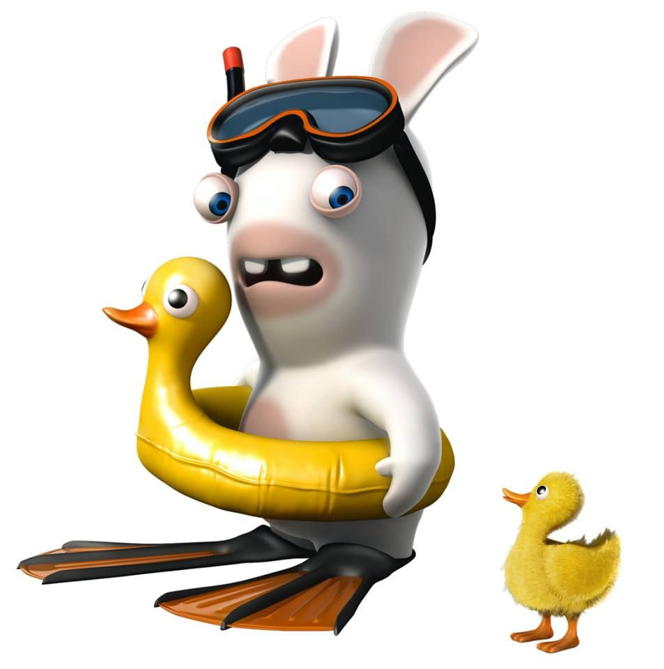 Lapin Crétin - Duck | Lapin cretin, Dessin lapin, Lapin