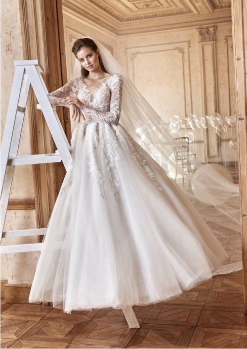 Ball Gown Wedding Dresses : Tarik Ediz Wedding Dresses White ...