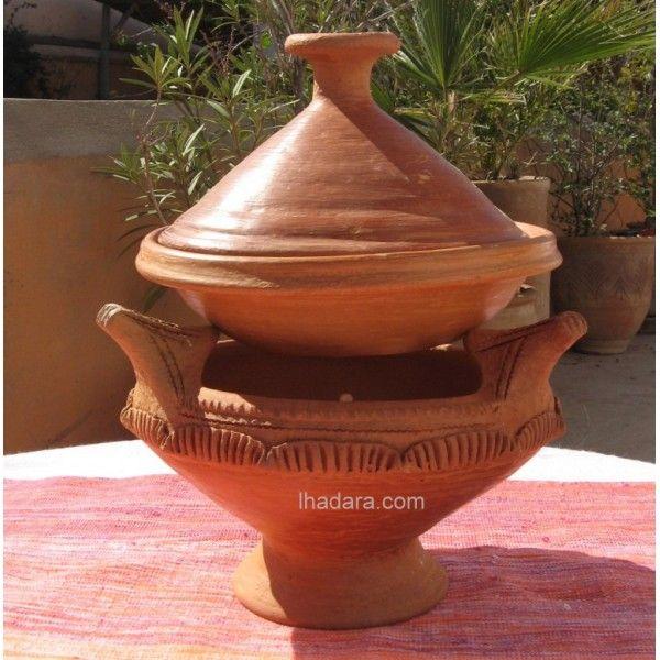 canoun brasero marocain majmar moroccan brazier for cooking tajines cot patio barbecue. Black Bedroom Furniture Sets. Home Design Ideas