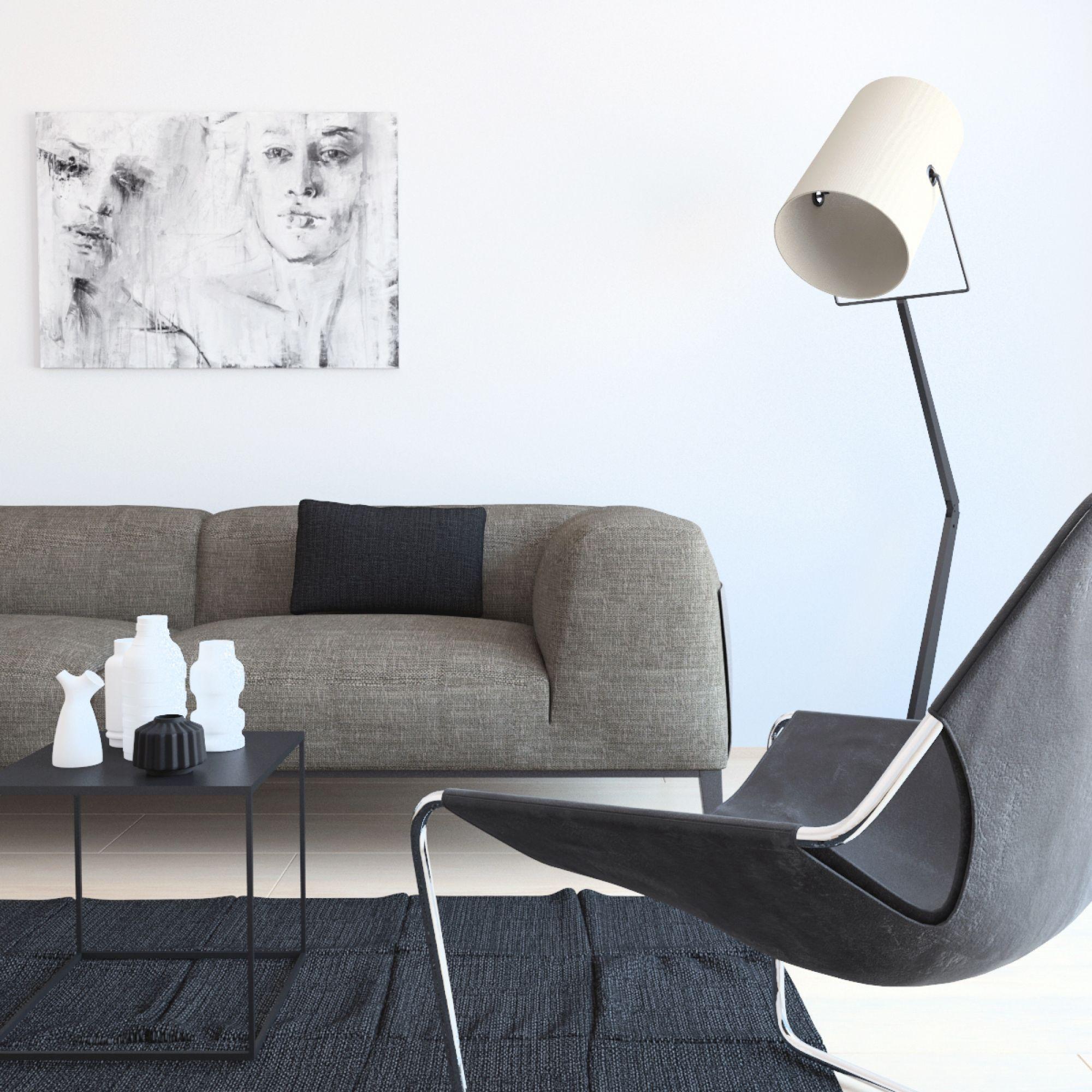 Living Room:Best Scandinavian Living Room Ideas With White ...