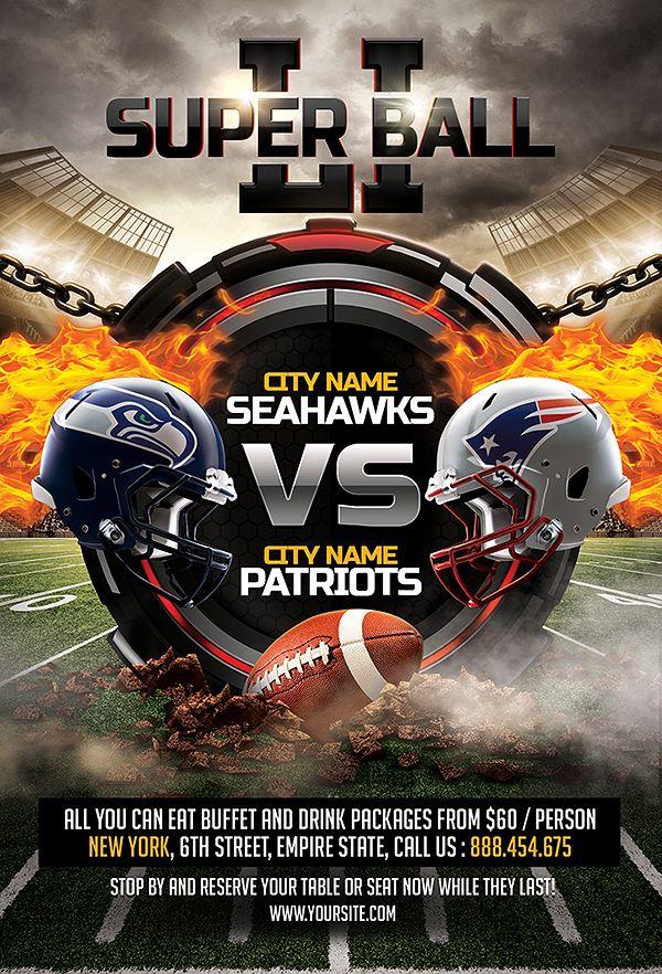 american football flyer  american  football game  flyer  american football flyer