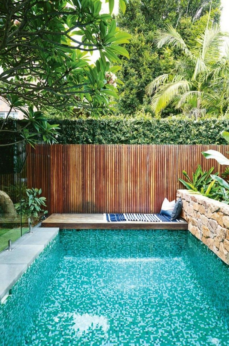 56 Incredible Small Indoor Pool Design Ideas In Your Home 14 Fieltro Net Swimming Pools Backyard Backyard Pool Small Pool Design