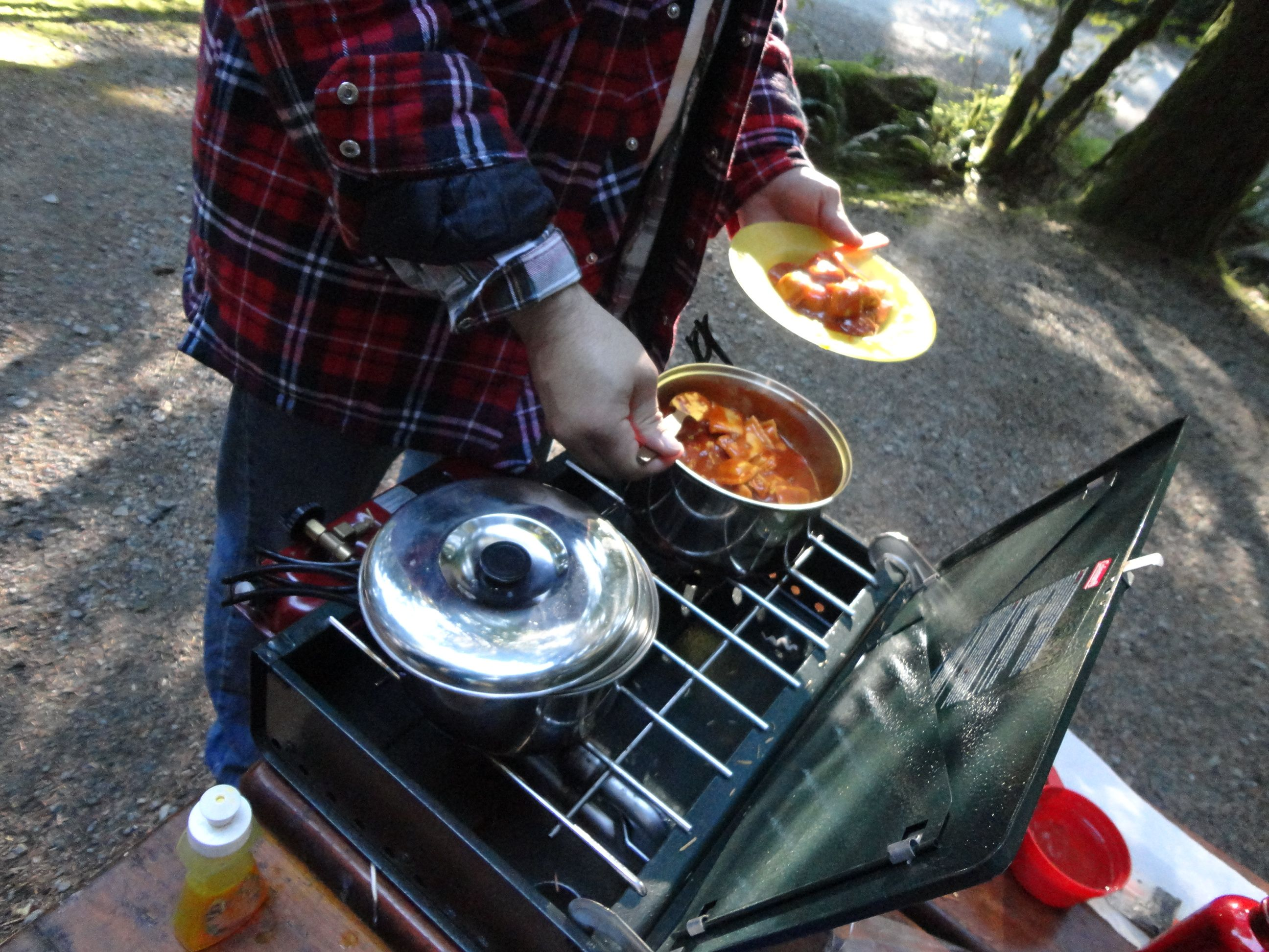 Camping slop! The fresh air makes everything taste yummy!