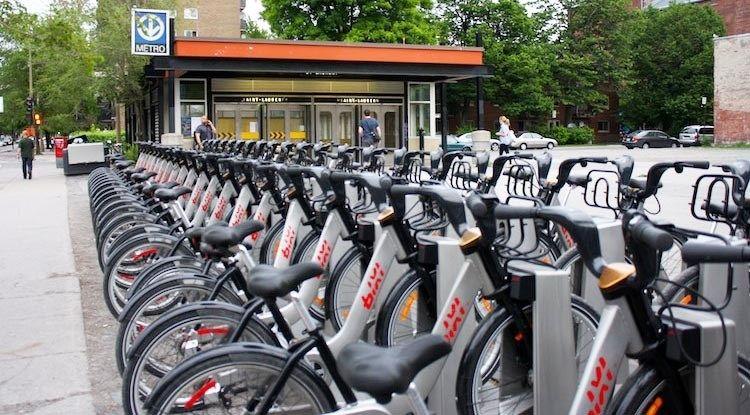 Montreal Bike Rentals Cycling Montreal Bike Rental Bike Bike