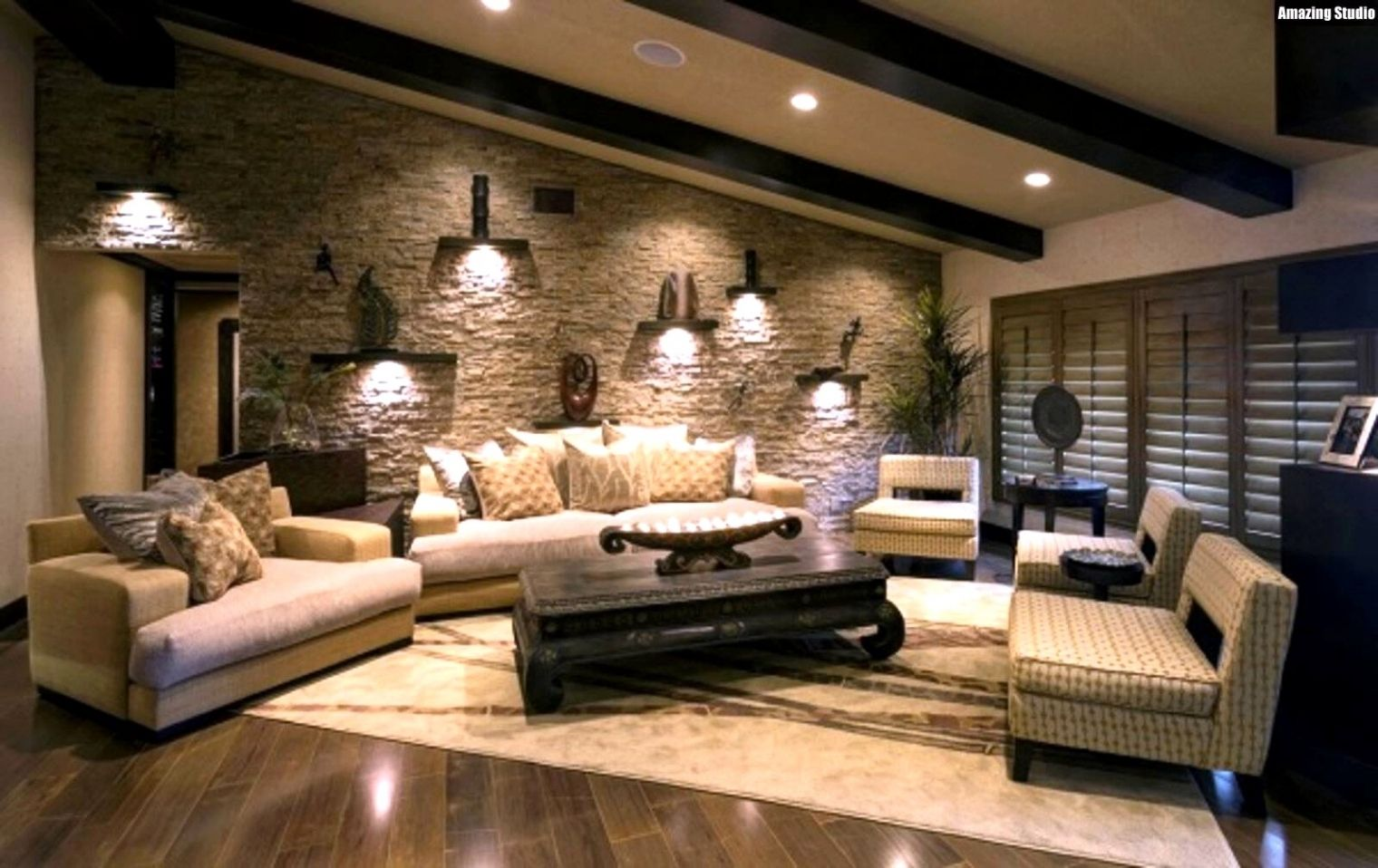 Inspiration Wohnzimmer Ideen Wandgestaltung