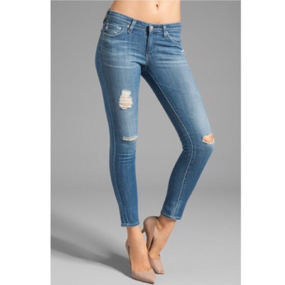 630dd3073e41c ️AG Legging Ankle 16 Years Destroyed Skinny Jean Brand new with tags Adriano  Goldschmied