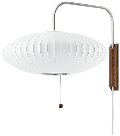 Delightful Saucer Wall Light. Nelson Bubble ... Amazing Design