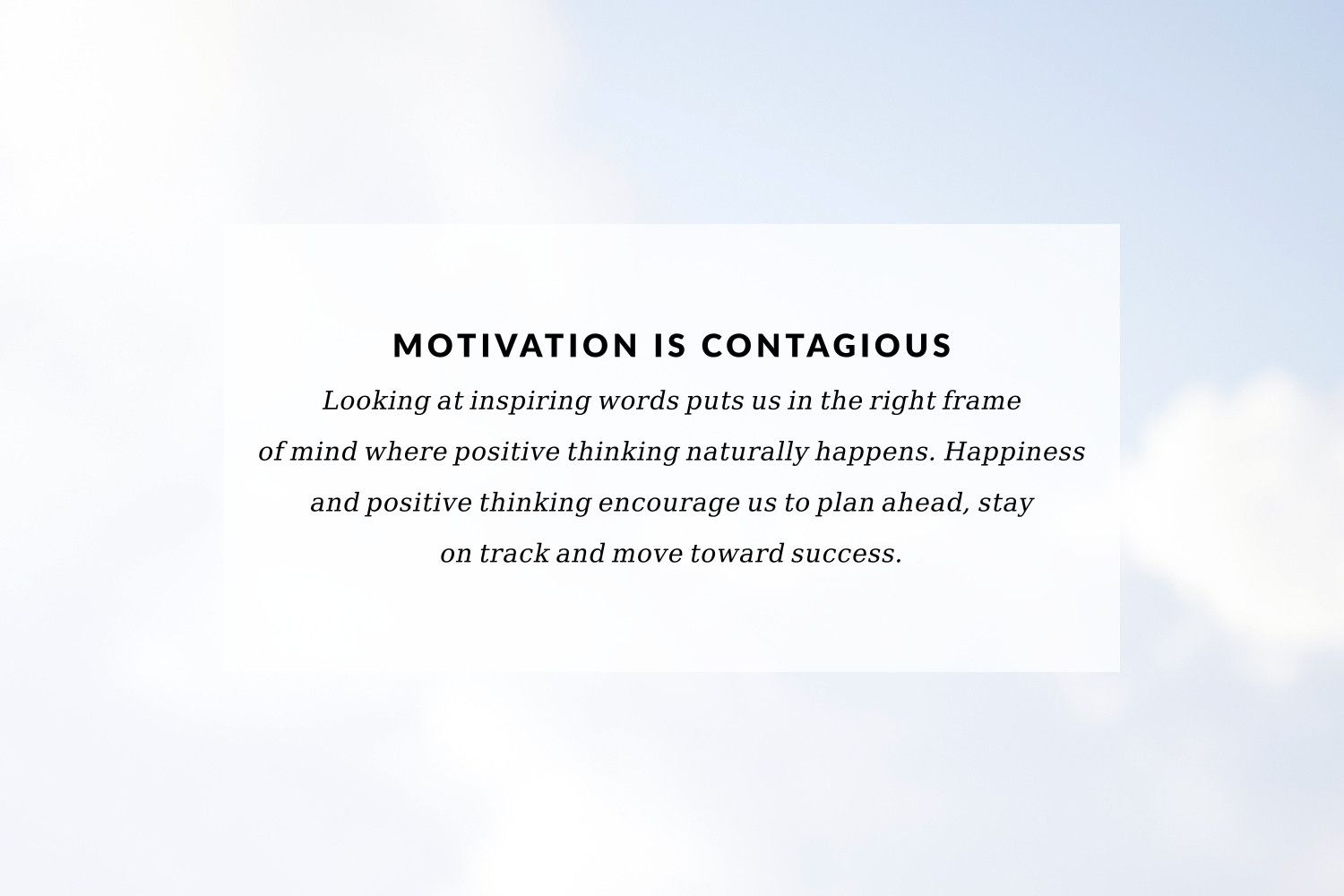 Browse our collection of inspirational fitness quotes and get instant exercise and workout motivation. Transform positive thoughts into positive actions and get fit, healthy and happy!