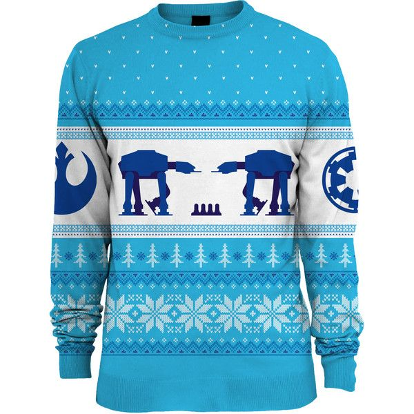 Star Wars AT-AT Hoth Unisex Knitted Christmas Sweater/Jumper ($55
