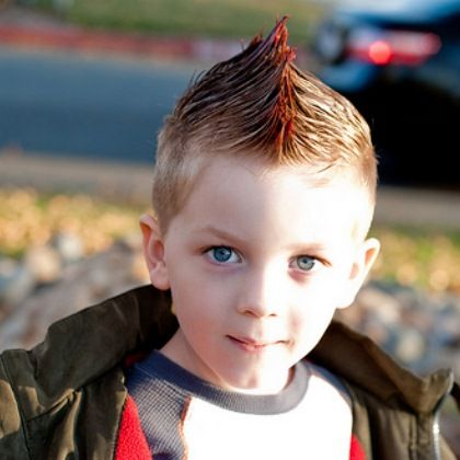 Fantastic Funny Kid And Boys Mohawk On Pinterest Short Hairstyles Gunalazisus